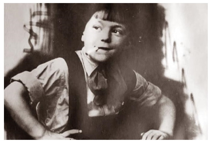 Георгий Штиль в детстве.