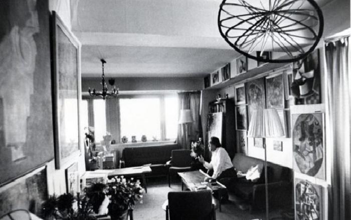 Квартира коллекционера Костаки.