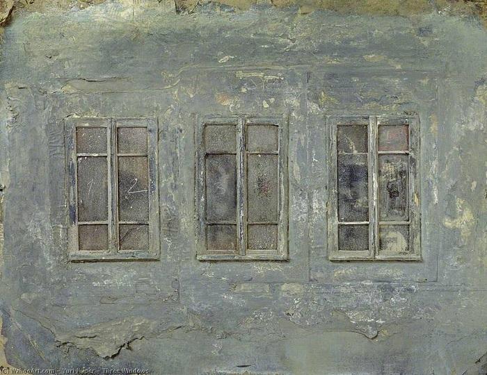 Три окна. Живопись от Юрия Купера.