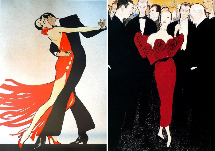 Иллюстрации от Рене Грюо.