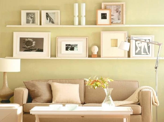 Картины в дизайне вашего дома. |Фото: gallerysmart.ru.
