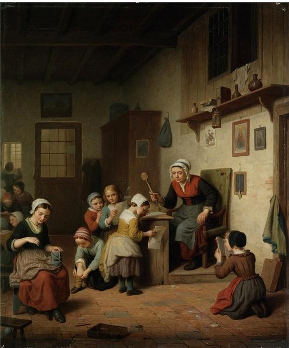 «Наказание». Автор: Basile de Loose.