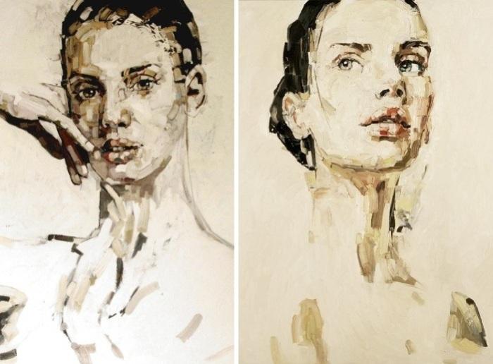 Портретная живопись от Anna Bocek.