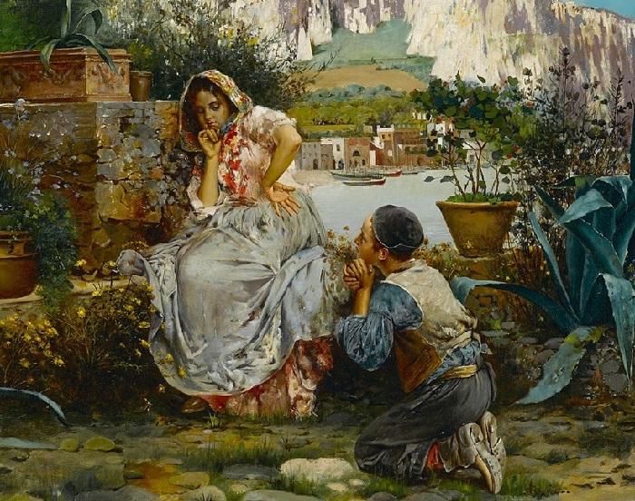 Отвергнутый любовник. (Rejected lover.). Автор: Винченцо Иролли.| Фото: gallerix.ru.