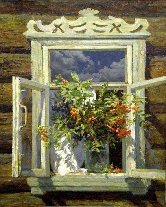 *Окна в живописи* от Дианы Коробкиной.