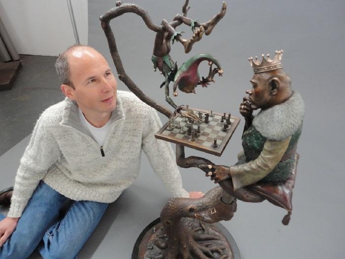 Британский скульптор Дэвид Гуд (David Goode).  Фото: mirtesen.ru