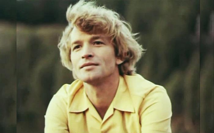 Владимир Борисов в молодые годы.