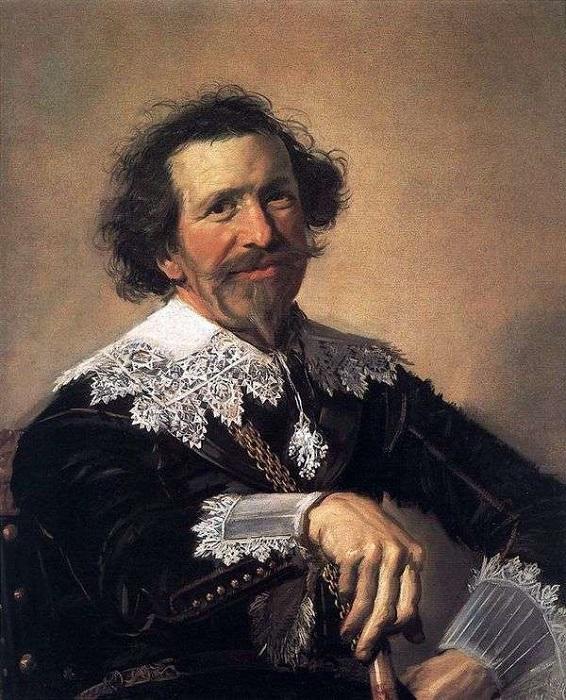 Портрет Питера ван дер Броке. Автор: Франс Хальс.
