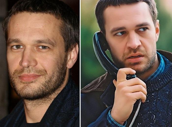 Актер Михал Жебровский.