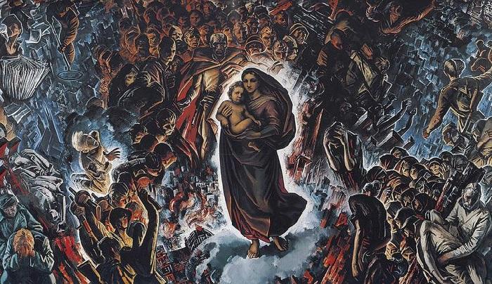 «И помнит мир спасенный». (1975-1985). Автор: Май Данцинг.