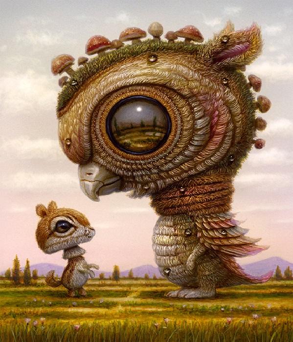 Иллюстрации от Naoto Hattori.