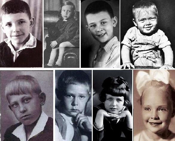 Архивные фото знаменитостей.