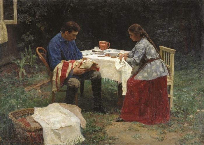 «Семья». Автор: Николай Касаткин.