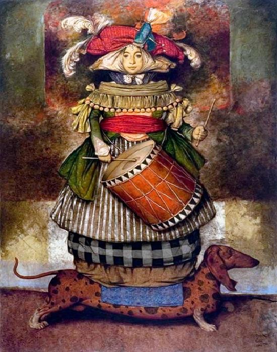 Живопись от армянского художника Дарона Мурадяна.