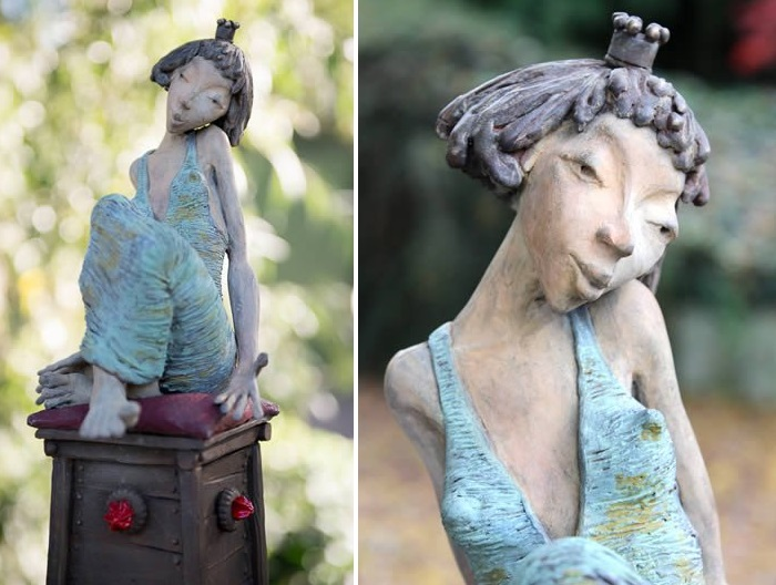 Королевишна. Скульптор: Dirk De Keyzer.