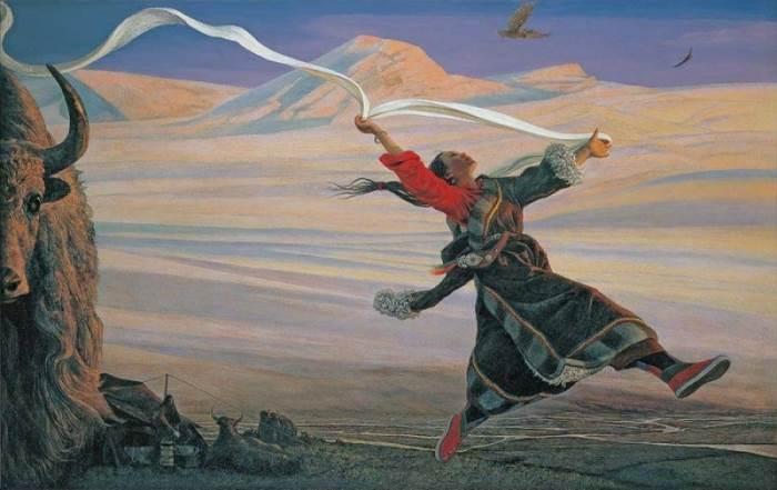 Ветер горы Гелагадонг.