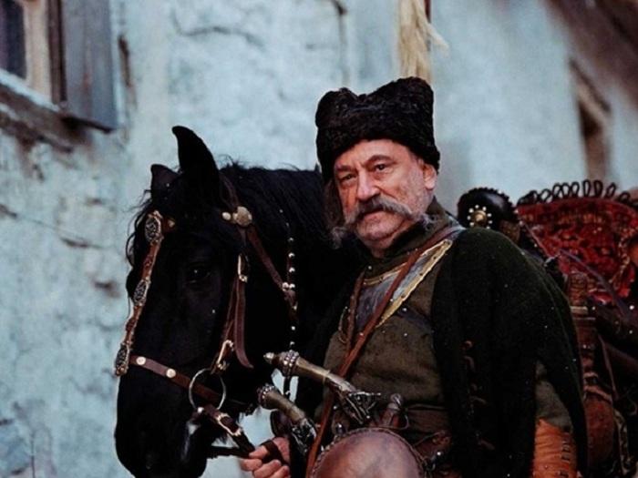 Богдан Ступка в роли Тараса Бульбы.