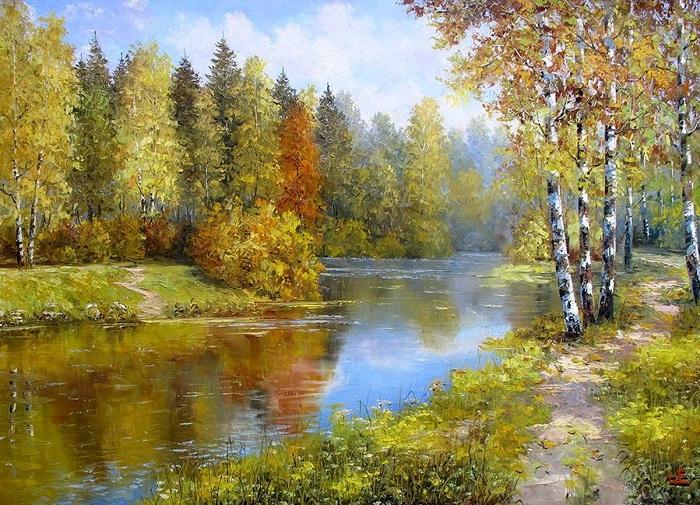 Пейзажная живопись от Евгения Синева.