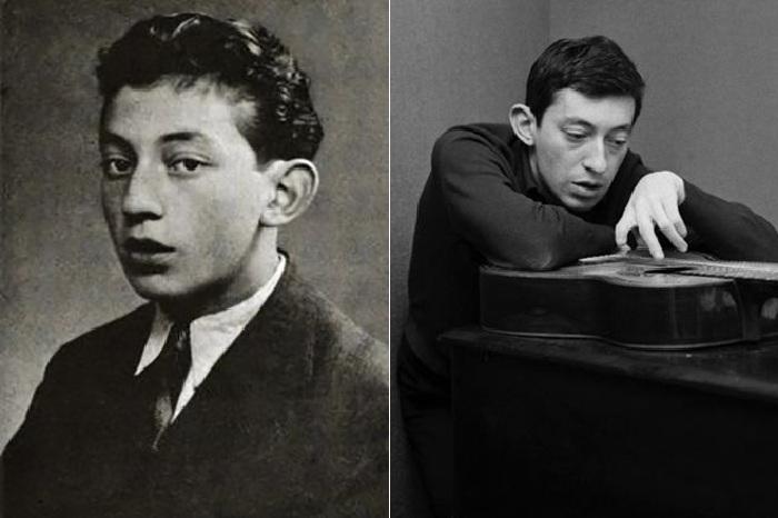 Люсьен Гинзбург в отрочестве и юности.