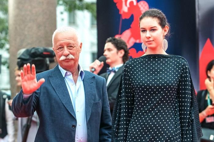Леонид Якубович с дочерью. (Варвара учится на журналиста в МГИМО.)