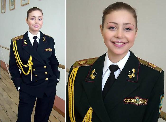 Татьяна Либерман - солистка Ансамбля Вооруженных сил Украины.