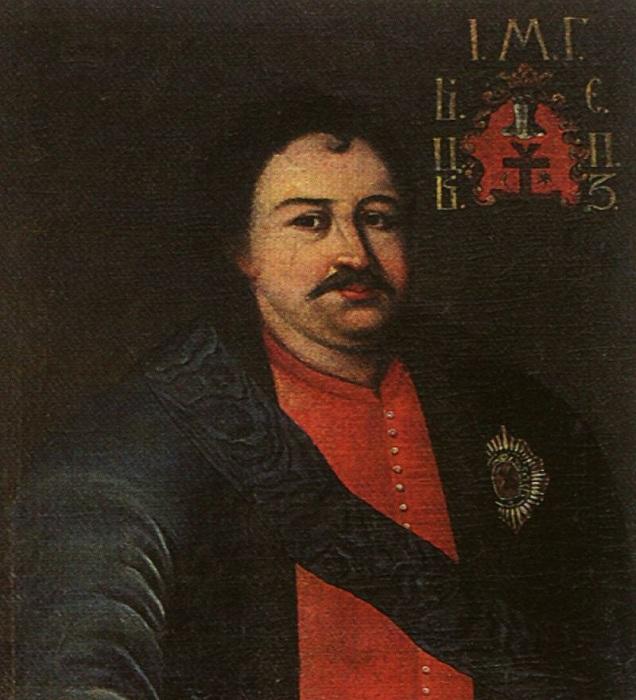 Иван Мазепа - гетман Войска Запорожского.