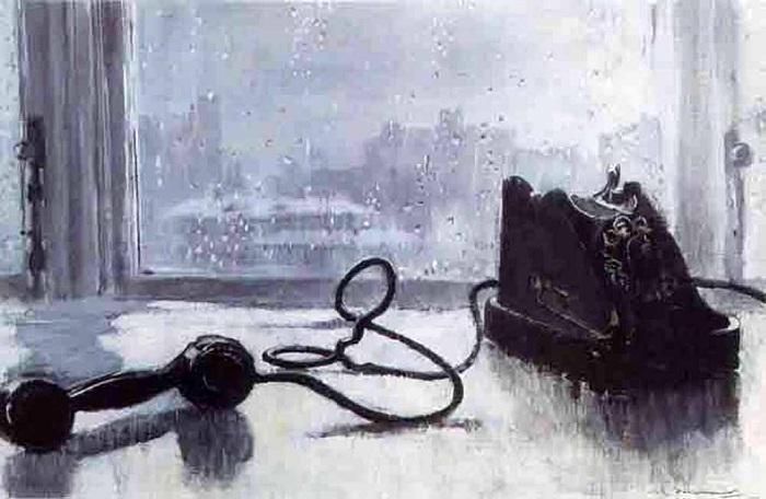 Ожидание. Автор: Юрий Пименов.