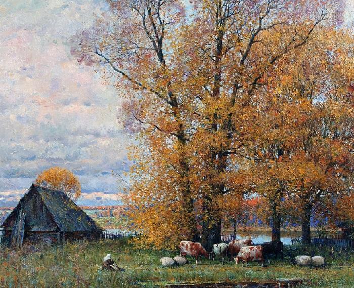 Осень в Борисоглебске.