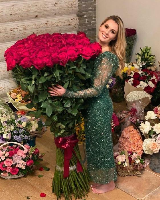 Мария Кожевникова в день своего 35-летия.