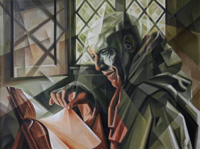 Летописец. Кубофутуризм от Василия Кроткова.