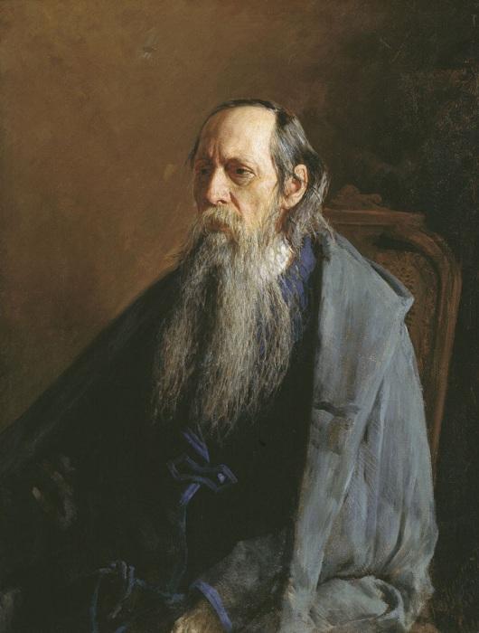Портрет Михаила Евграфовича Салтыкова-Щедрина. Автор: Н. А. Ярошенко. (1886 год.)