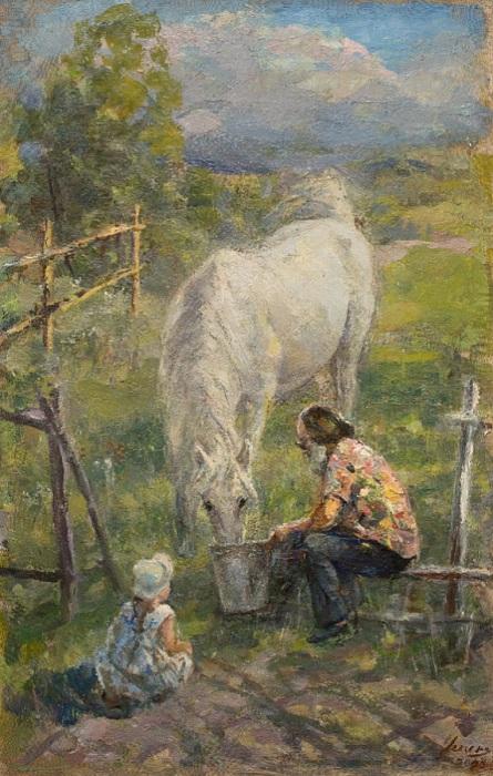 Жанровая живопись от Ксении Успенской.