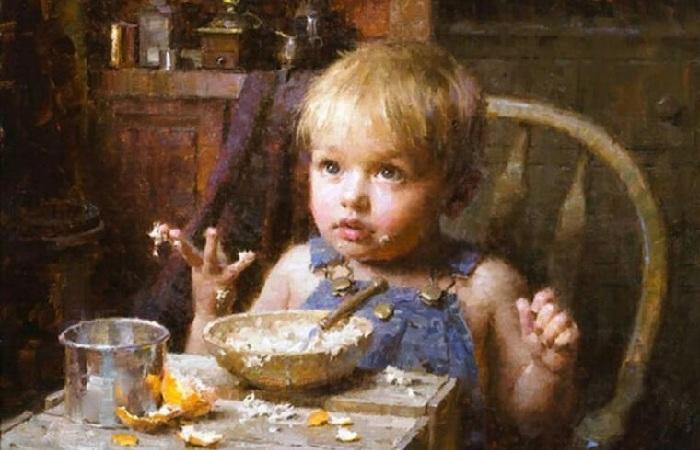 «Самостоятельный малыш». Автор: Morgan Weistling.