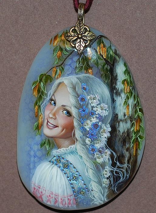 Леля - дева богиня любви. Кулон. Автор: Светлана Беловодова.