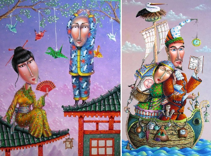 Японская сюита. / Семейное счастье. Автор: Зураб Мартиашвили.