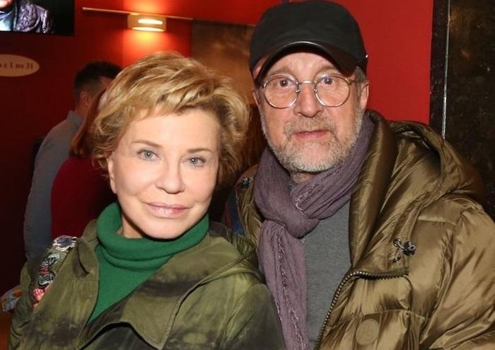 Леонид Ярмольник с супругой.