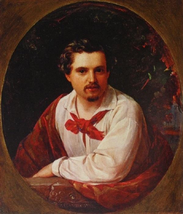 Портрет А.В.Третьякова. (1851 год). Государственная Третьяковская галерея. Автор: П.Орлов.