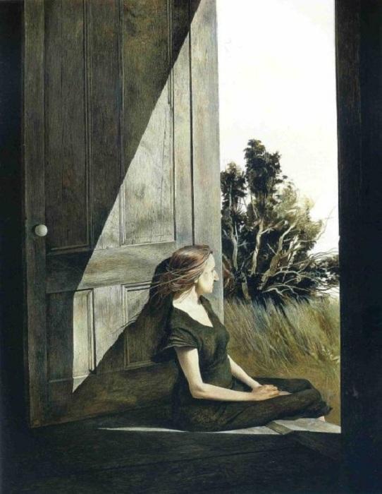 «Кристина Олсон». Автор: Ðндрю Уайет.