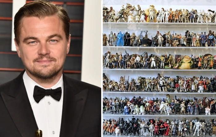 Леонардо Ди Каприо - обладатель коллекции персонажей «Звездных войн».