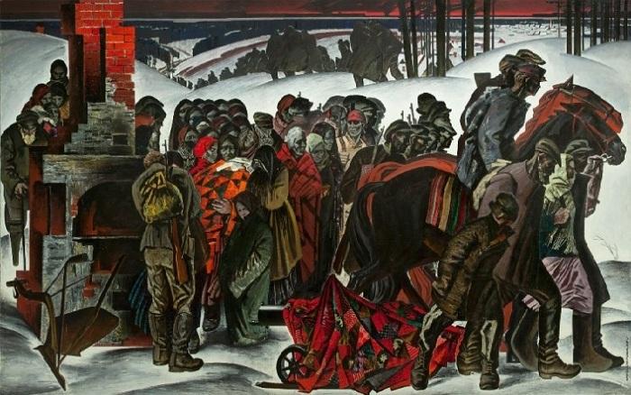 «Беларусь – мать партизанская» (1967 год.) Автор: Май Данцинг.