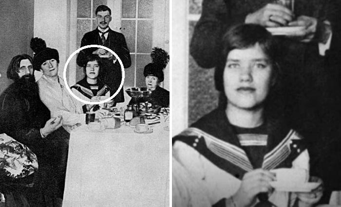 Матрёна Распутина и Григорий Распутин.