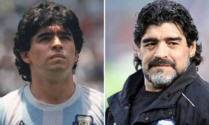 Диего Армандо Марадона - легендарный аргентинский футболист, чемпион мира 1986.