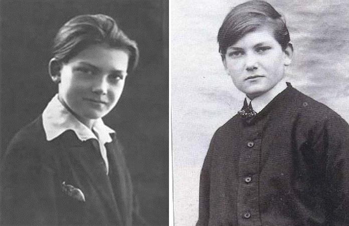 Жан Маре в подростковом возрасте.