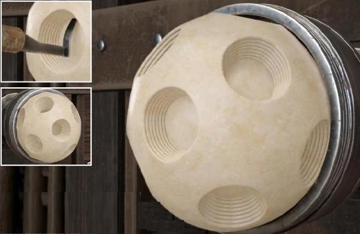 Техника изготовления заготовки для шара.