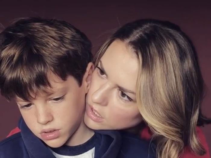 Лянка с сыном