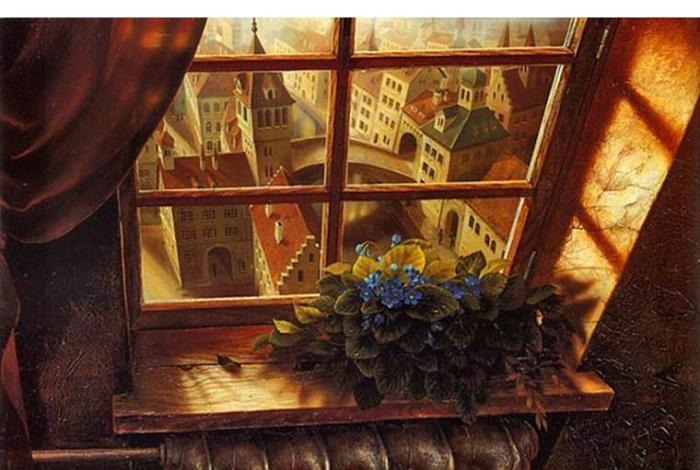 *Окна в живописи* от Станислава Плутенко.