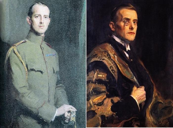 Андрей Георгиевич, принц Греции, 1913 год. / Джозеф Остин Чемберлен, 1920 год.