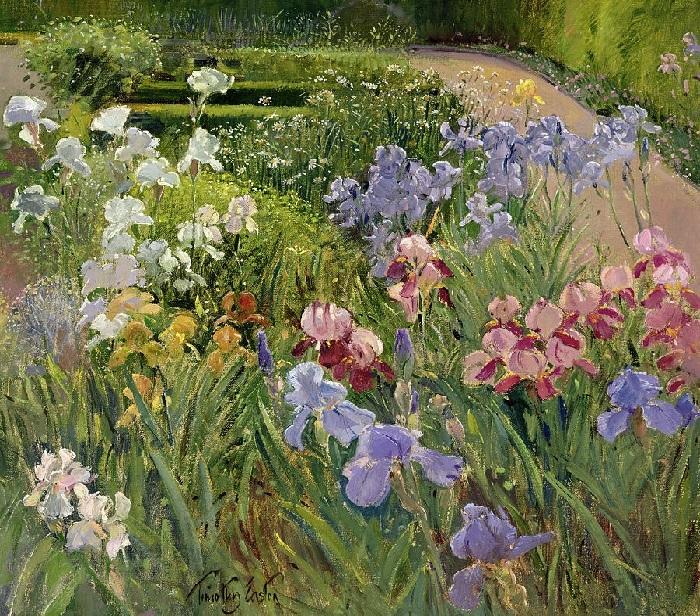 Ирисы в Бедфилде (Irises at Bedfield).