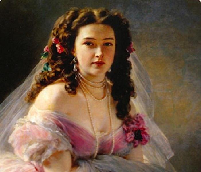 Варвара Римская-Корсакова. Автор: Франц Ксавер Винтерхальтер.
