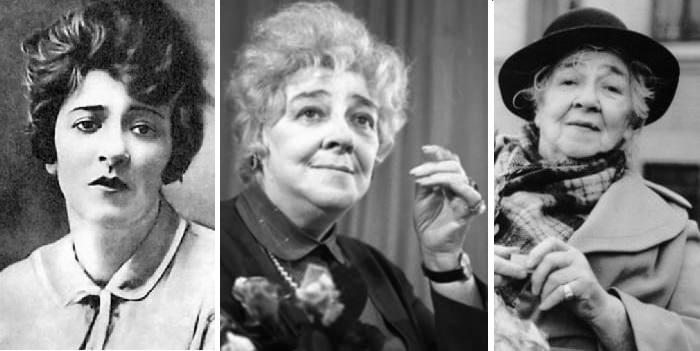 Фаина Раневская (1896 - 1984) — русская и советская актриса театра и кино.